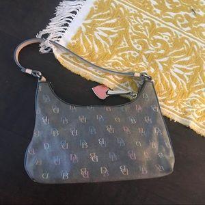 Dooney & Bourke colorful  leather shoulder bag